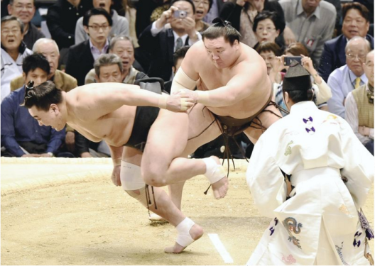 Hakuho push