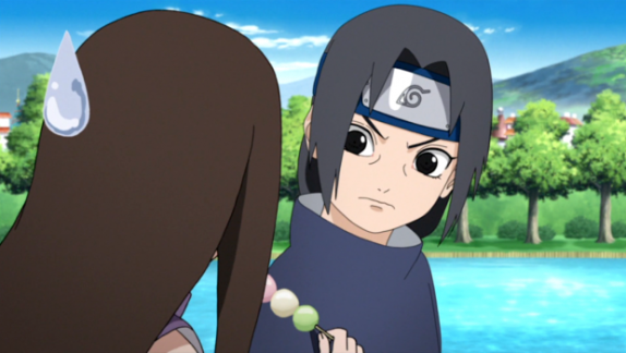 Itachi and girl