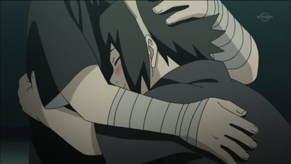 Itachi hug