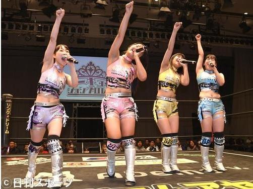 Idol pro wrestling