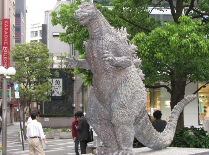 old godzilla-japan