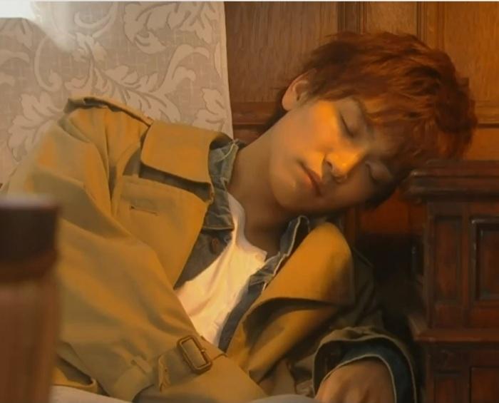 Episode 1 sleeping