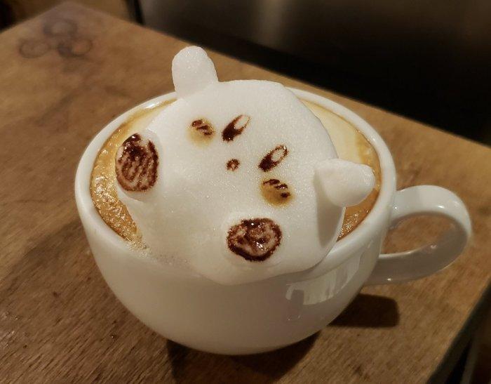 Kirby latte