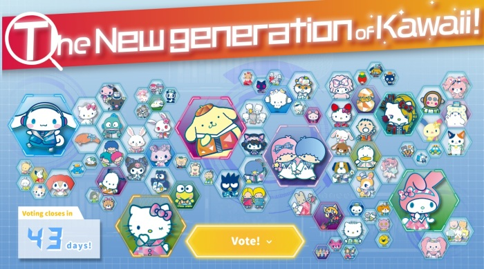 Sanrio vote