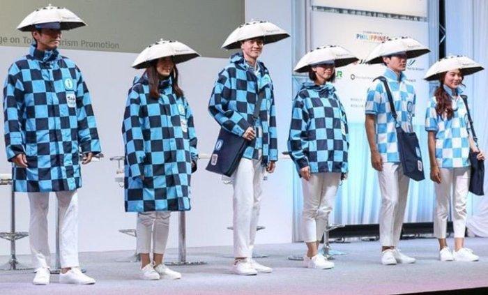 Tokyo olympic uniform umbrella