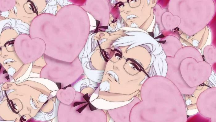 KFC sim colonel hearts