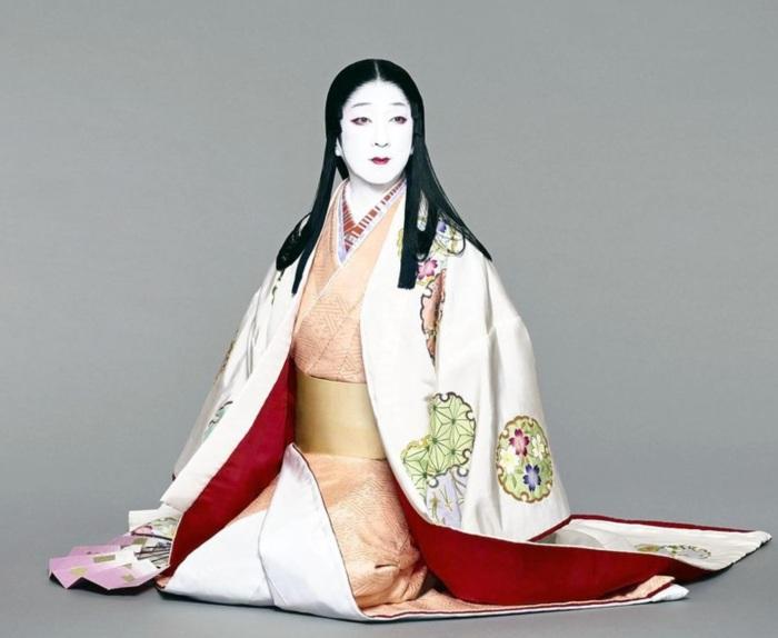 Snow white kabuki